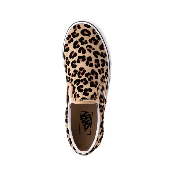 alternate image alternate view Vans Slip On Skate Shoe - LeopardALT2
