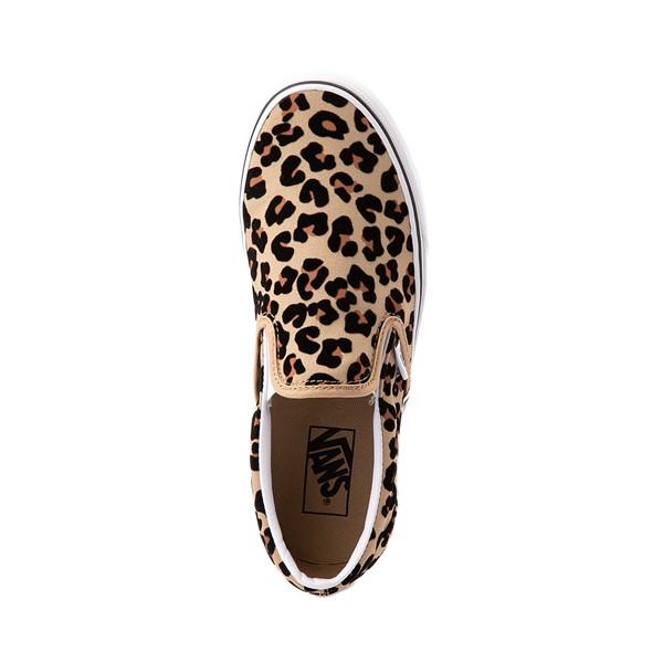 alternate image alternate view Vans Slip On Skate Shoe - LeopardALT2