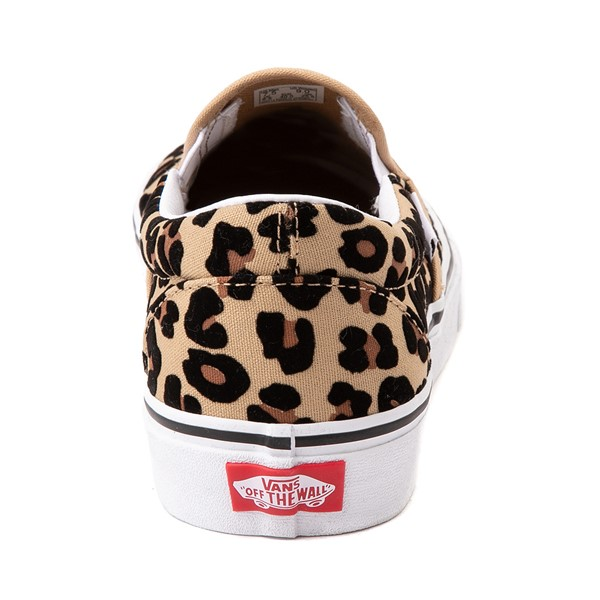 alternate image alternate view Vans Slip On Skate Shoe - LeopardALT4
