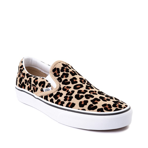 alternate image alternate view Vans Slip On Skate Shoe - LeopardALT5