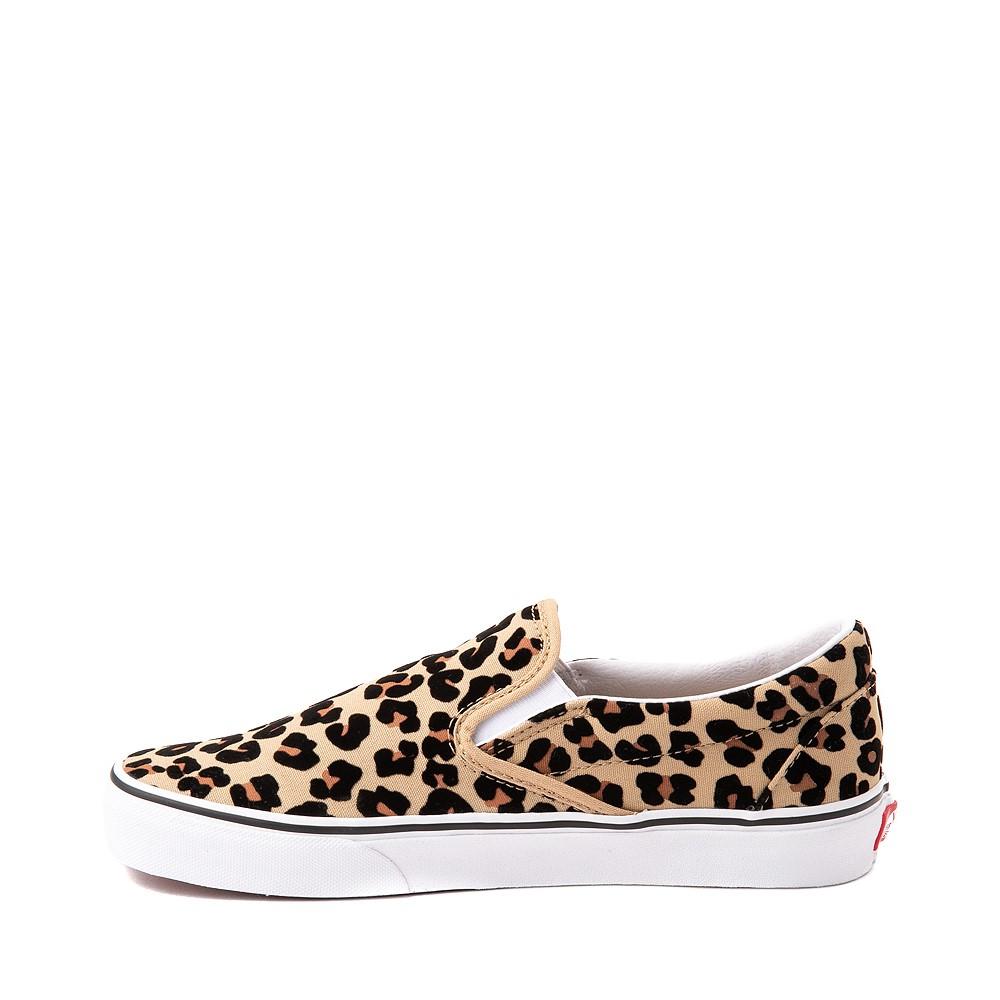 Vans Slip On Skate Shoe - Leopard