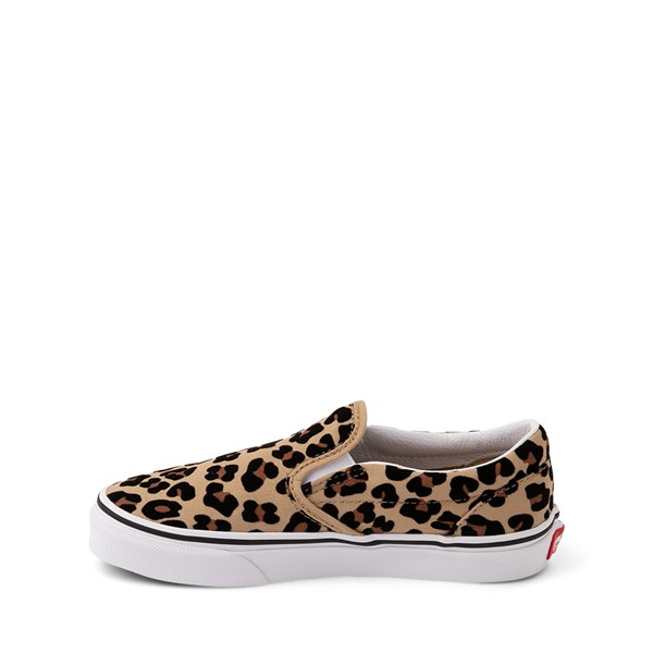 alternate image alternate view Vans Slip On Skate Shoe - Little Kid / Big Kid - LeopardALT1