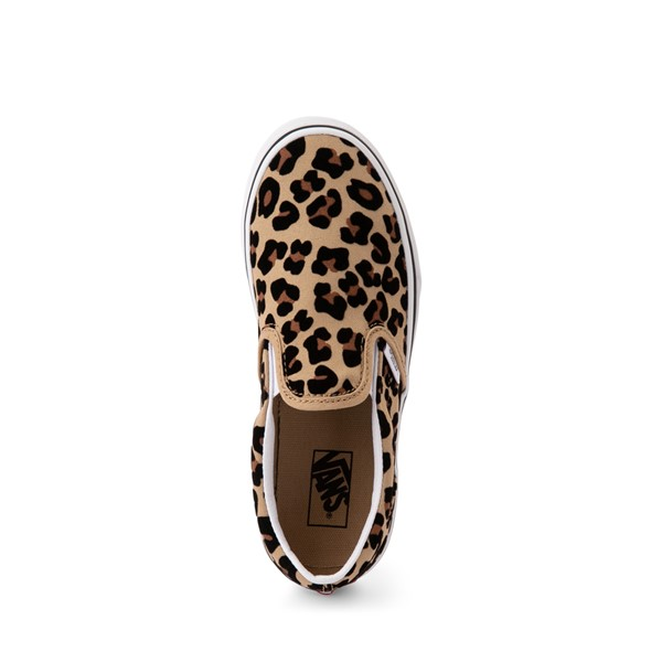 alternate image alternate view Vans Slip On Skate Shoe - Little Kid / Big Kid - LeopardALT2