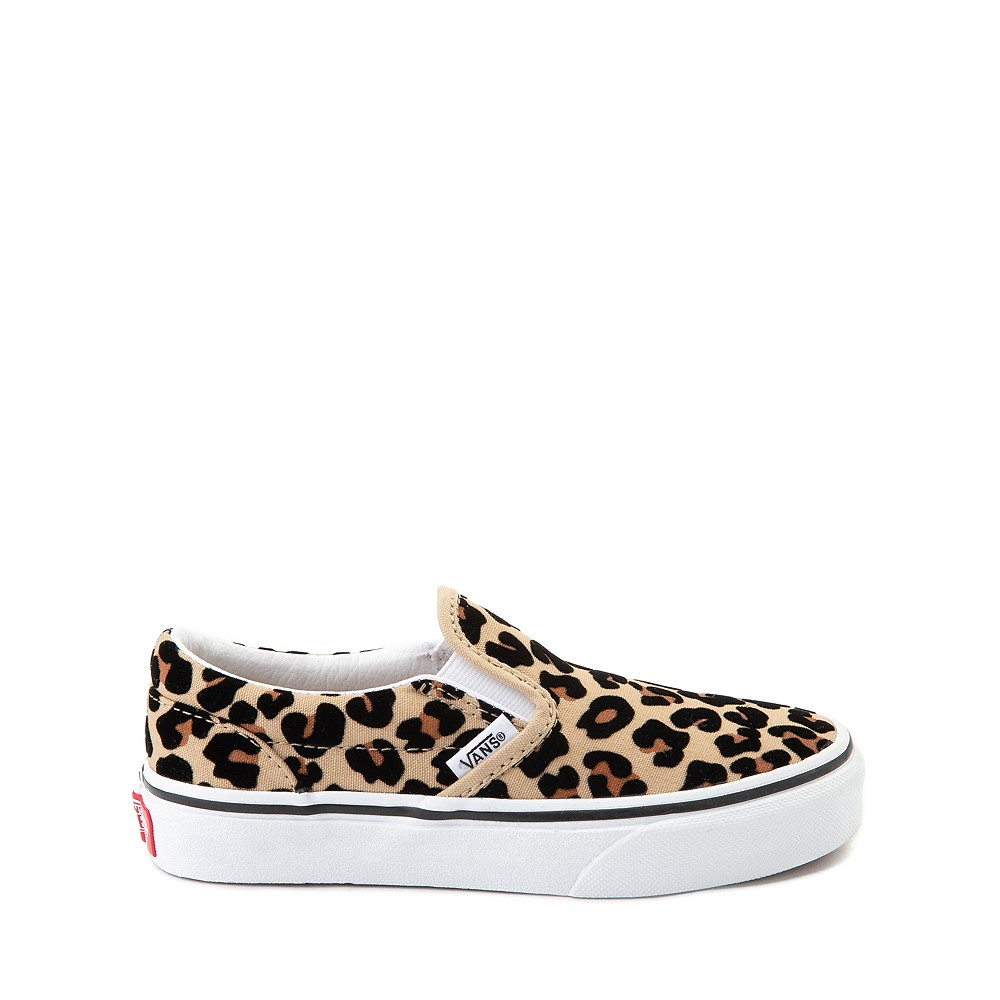 Vans Slip On Skate Shoe - Little Kid / Big Kid - Leopard