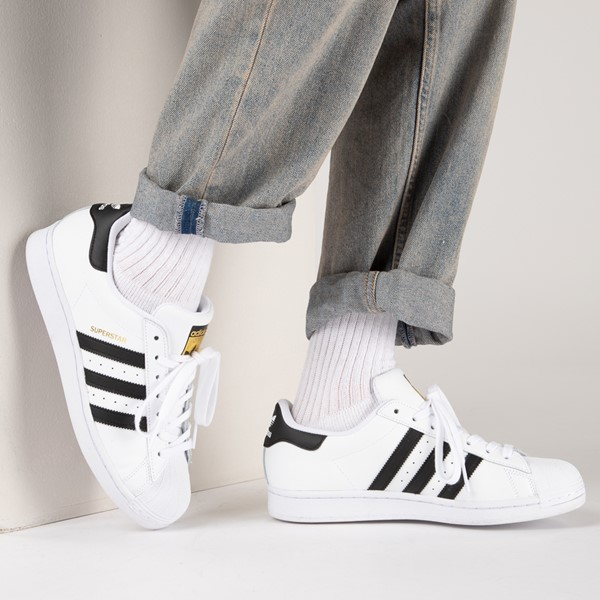 alternate image alternate view Mens adidas Superstar Athletic ShoeB-LIFESTYLE1