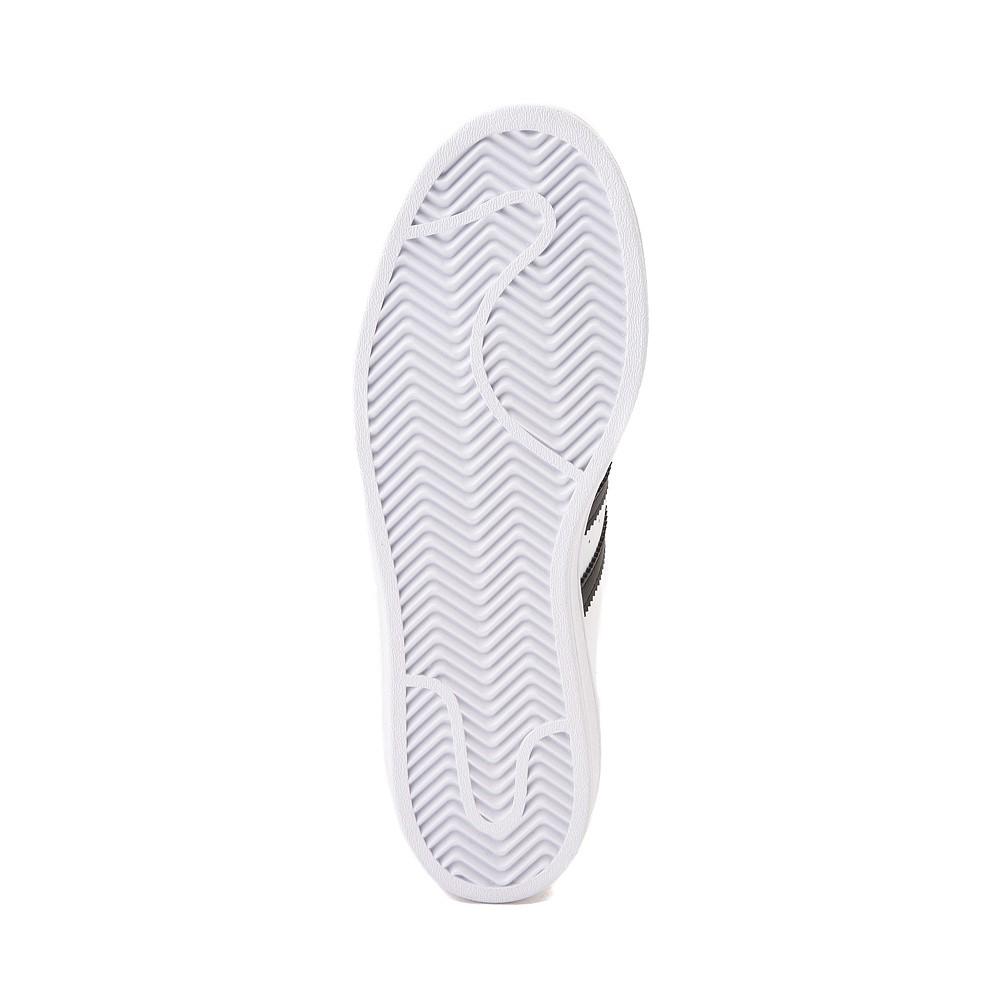 Mens adidas Superstar Athletic Shoe - White / Black ...