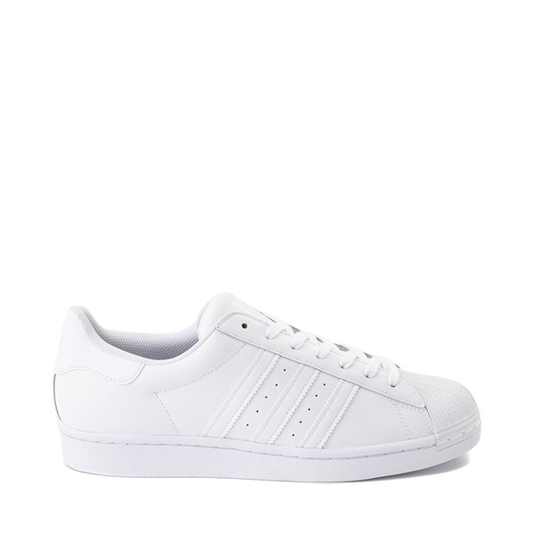 Main view of Mens adidas Superstar Athletic Shoe - White Monochrome