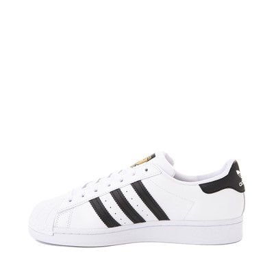 Alternate view of Womens adidas Superstar Athletic Shoe - White / Black