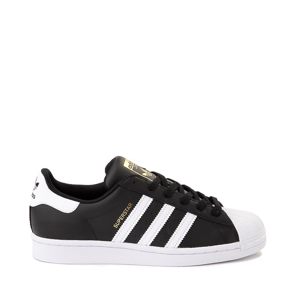 Womens adidas Superstar Athletic Shoe - Black / White