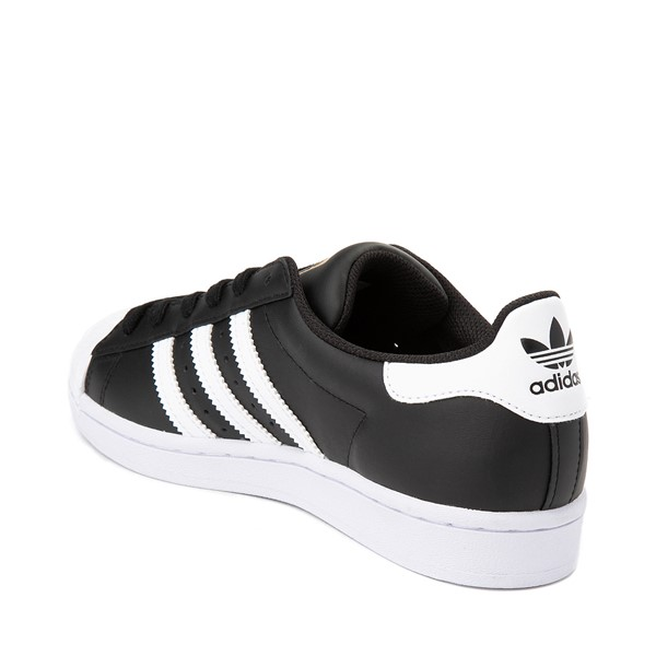 alternate image alternate view Womens adidas Superstar Athletic Shoe - Black / WhiteALT1