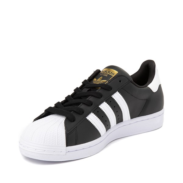 alternate image alternate view Womens adidas Superstar Athletic Shoe - Black / WhiteALT2