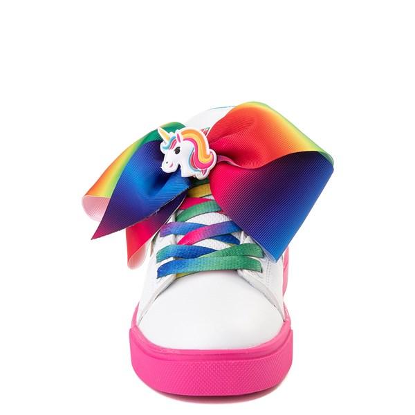 alternate image alternate view Heelys Racer JoJo Siwa™ Skate Shoe - Little Kid / Big Kid - White / RainbowALT4