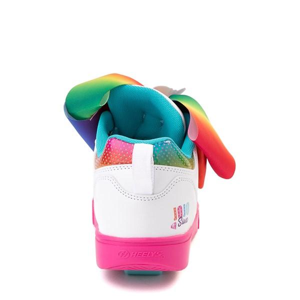 alternate image alternate view Heelys Racer JoJo Siwa™ Skate Shoe - Little Kid / Big Kid - White / RainbowALT6