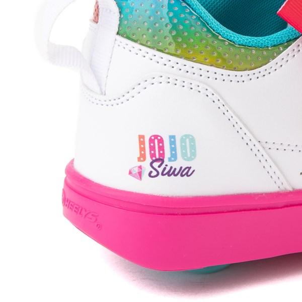 alternate image alternate view Heelys Racer JoJo Siwa™ Skate Shoe - Little Kid / Big Kid - White / RainbowALT7