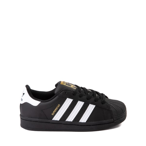 Main view of adidas Superstar Athletic Shoe - Little Kid - Black / White