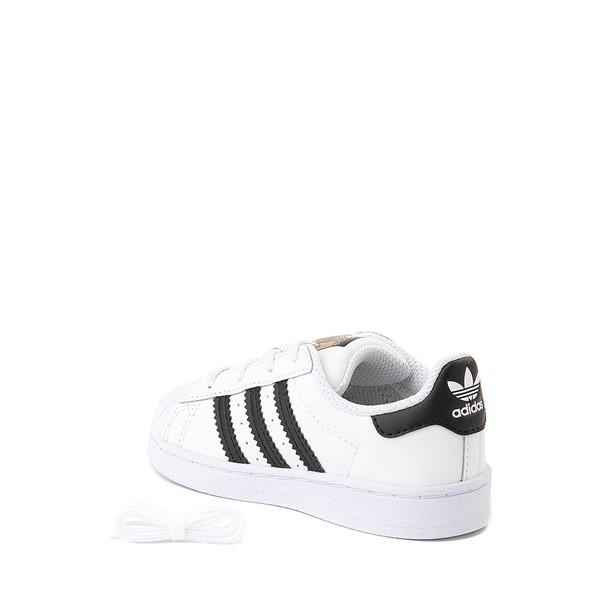 alternate image alternate view adidas Superstar Athletic Shoe - Baby / Toddler - WhiteALT1