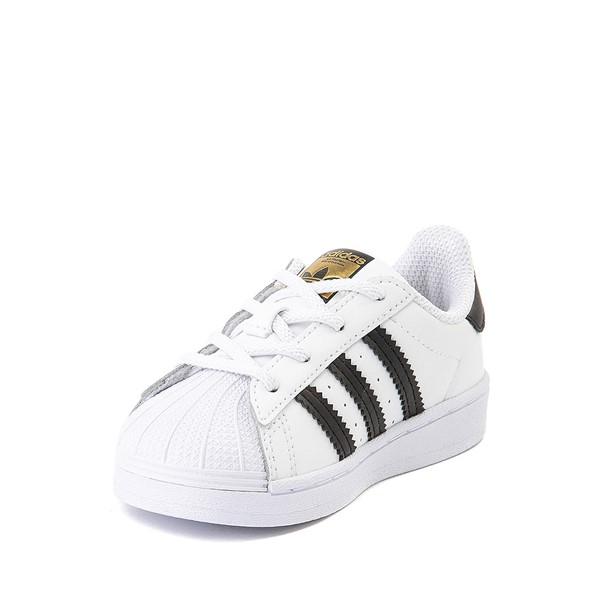 alternate image alternate view adidas Superstar Athletic Shoe - Baby / Toddler - WhiteALT2