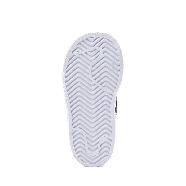 alternate image alternate view adidas Superstar Athletic Shoe - Baby / Toddler - WhiteALT3