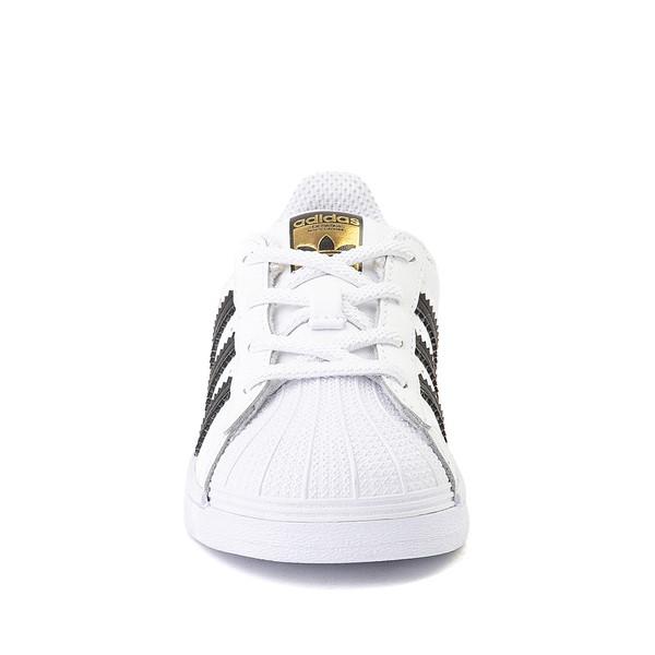 alternate image alternate view adidas Superstar Athletic Shoe - Baby / Toddler - WhiteALT4