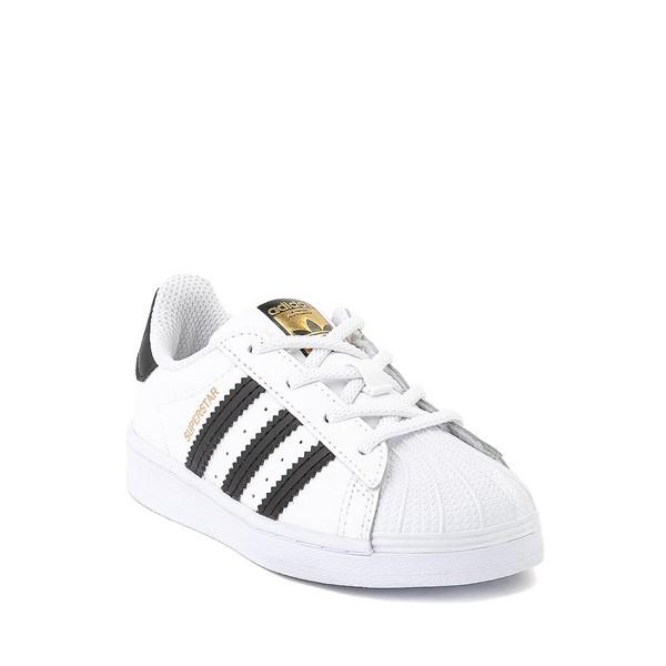 alternate image alternate view adidas Superstar Athletic Shoe - Baby / Toddler - WhiteALT5