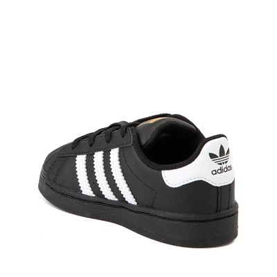 Alternate view of adidas Superstar Athletic Shoe - Baby / Toddler - Black