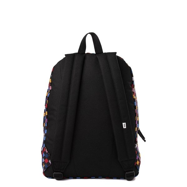 alternate image alternate view Vans Realm Backpack - Black / MultiALT1