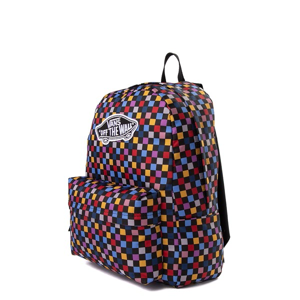 alternate image alternate view Vans Realm Backpack - Black / MultiALT2