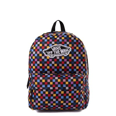 Main view of Vans Realm Backpack - Black / Multi
