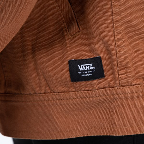 alternate image alternate view Mens Vans Precept Hooded Trucker JacketALT5