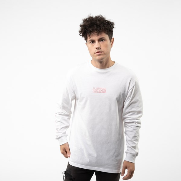Mens Vans OTW Framework Long Sleeve Tee - White