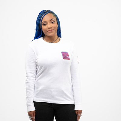 Alternate view of Womens Vans Doubler Long Sleeve Tee