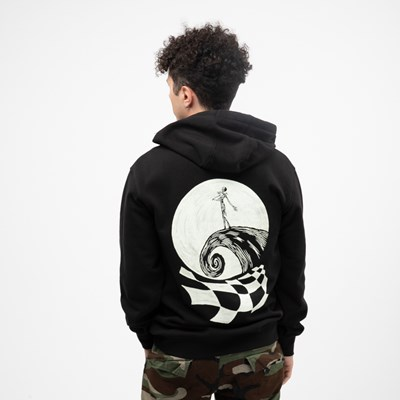 Main view of Mens Vans x The Nightmare Before Christmas Jack Skellington Hoodie