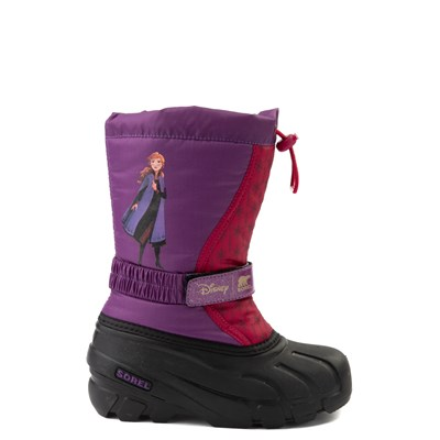 Main view of Disney x Sorel Frozen 2 Flurry™ Anna Boot - Toddler / Little Kid