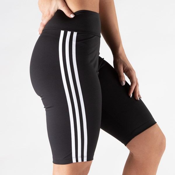 alternate image alternate view Womens adidas 3 Stripe Bike ShortsALT3