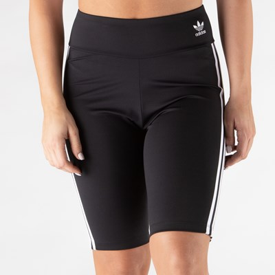 Main view of Womens adidas 3 Stripe Bike Shorts