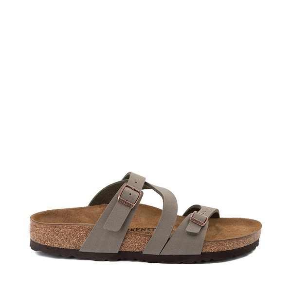 Main view of Womens Birkenstock Salina Slide Sandal - Stone