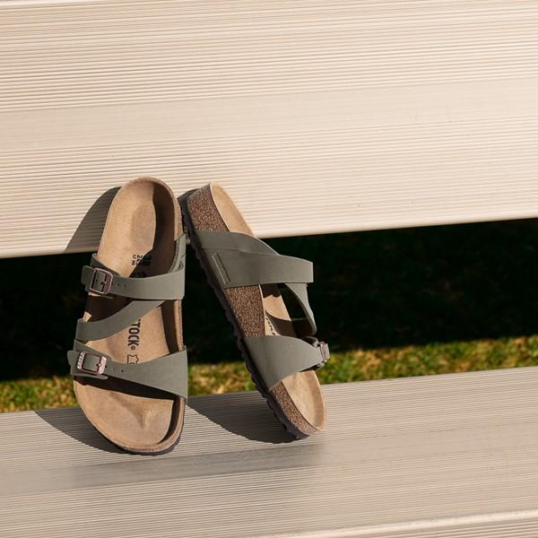 alternate image alternate view Womens Birkenstock Salina Slide Sandal - StoneALT1B