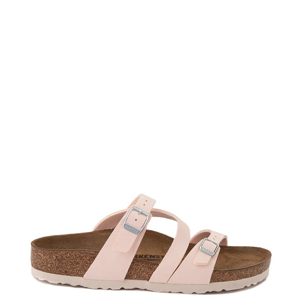 Main view of Womens Birkenstock Salina Slide Sandal - Light Rose