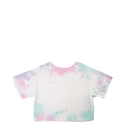 Alternate view of Womens Champion Heritage Cropped Tee - Tie Dye