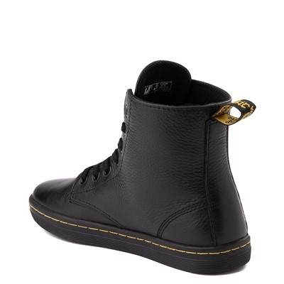 Alternate view of Womens Dr. Martens Leyton Boot - Black