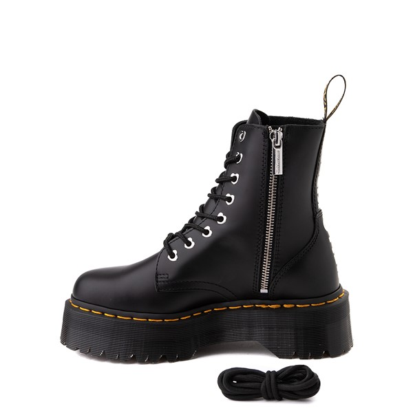alternate image alternate view Womens Dr. Martens x Hello Kitty® Jadon Boot - BlackALT1