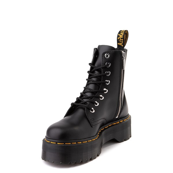 alternate image alternate view Womens Dr. Martens x Hello Kitty® Jadon Boot - BlackALT3