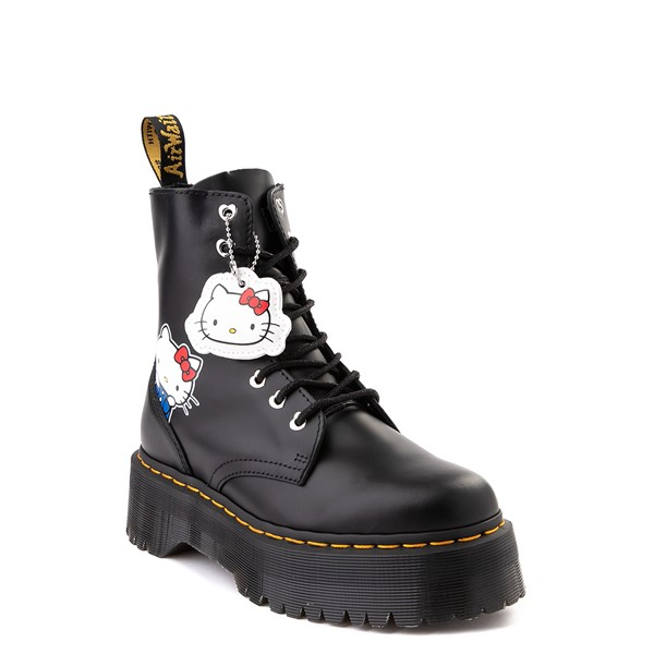 alternate image alternate view Womens Dr. Martens x Hello Kitty® Jadon Boot - BlackALT5