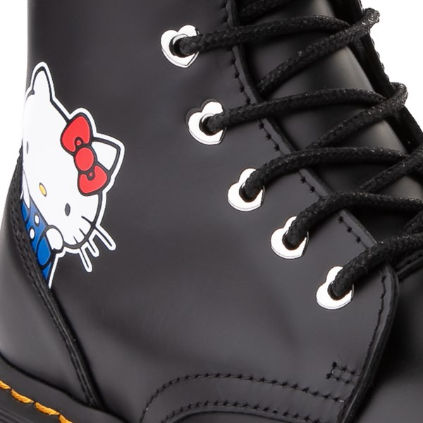 alternate image alternate view Womens Dr. Martens x Hello Kitty® Jadon Boot - BlackALT7