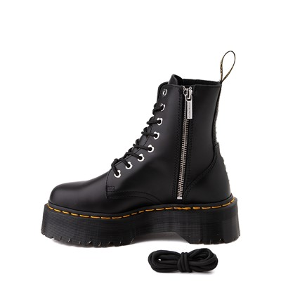 Alternate view of Womens Dr. Martens x Hello Kitty® Jadon Boot - Black