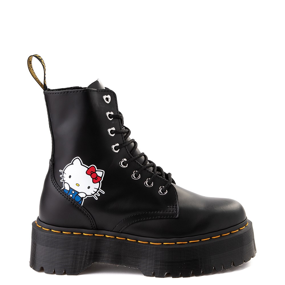 Womens Dr. Martens x Hello Kitty® Jadon Boot - Black