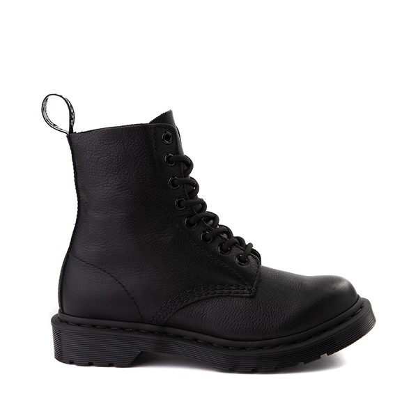 Main view of Womens Dr. Martens Pascal 8-Eye Boot - Black Monochrome