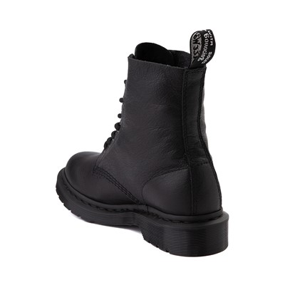 Alternate view of Womens Dr. Martens Pascal 8-Eye Boot - Black Monochrome