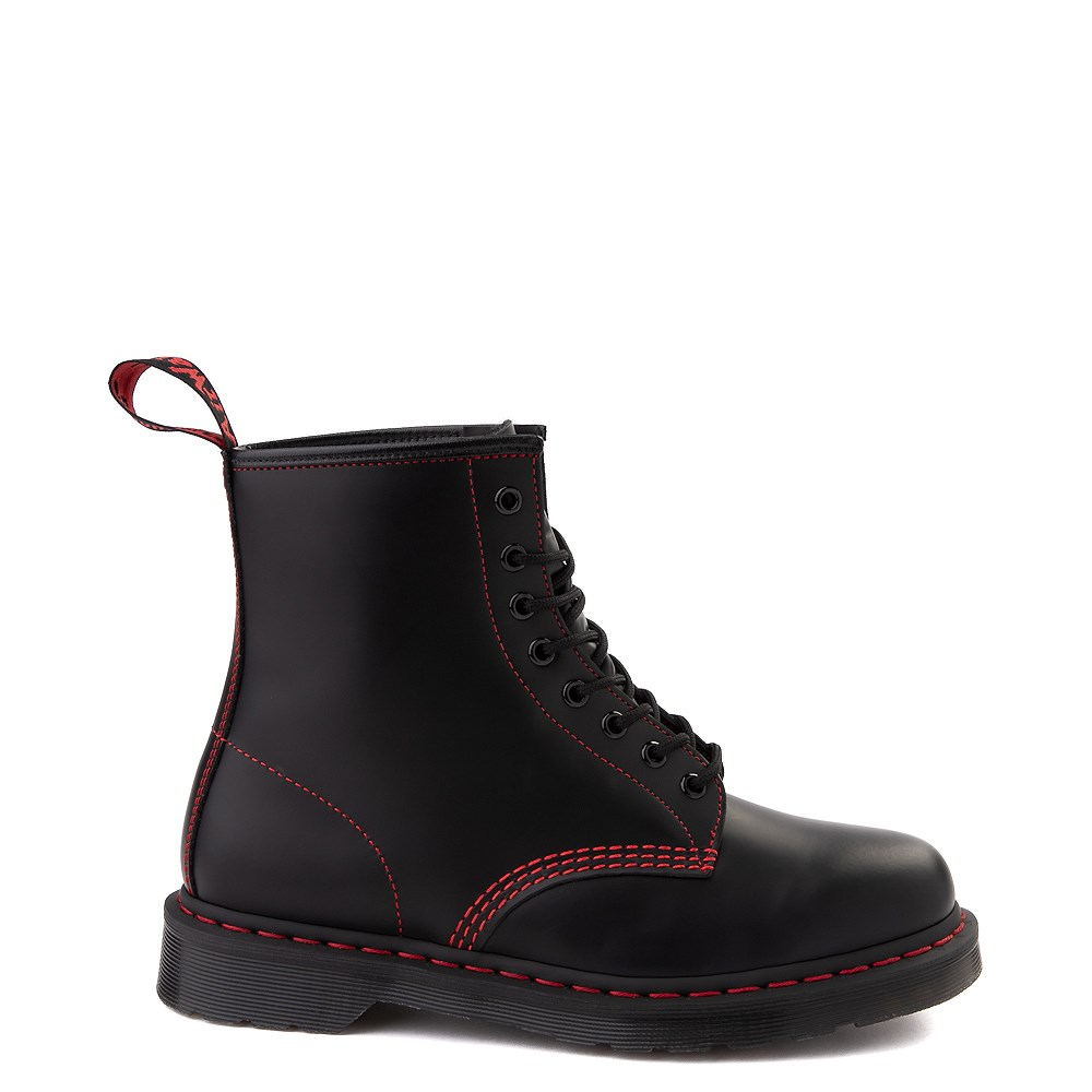 Dr. Martens 1460 8-Eye Boot - Black / Red