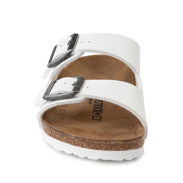 alternate image alternate view Birkenstock Arizona Sandal - Little Kid - WhiteALT4